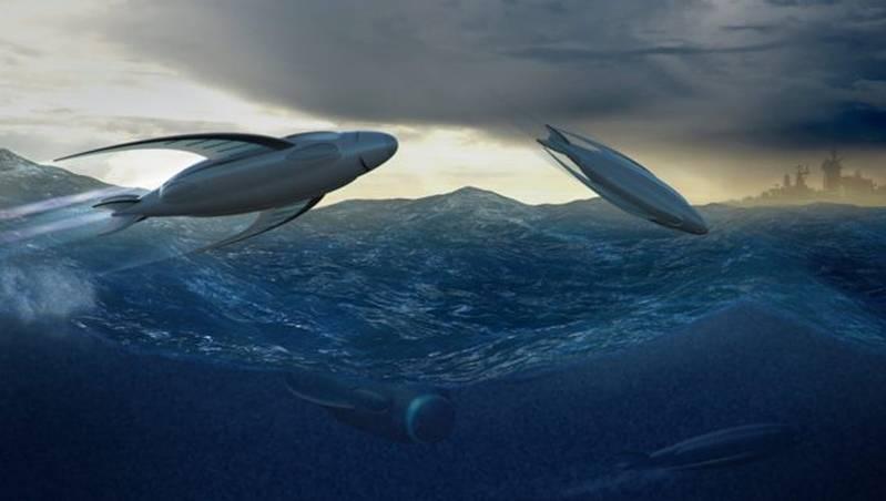 """미국에서는 """"거대한""""무인 잠수함 개발이 시작되었다."""