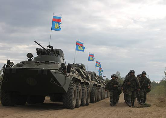 "Russian units arrived in Kazakhstan on the teaching of ""The Indestructible Brotherhood"""