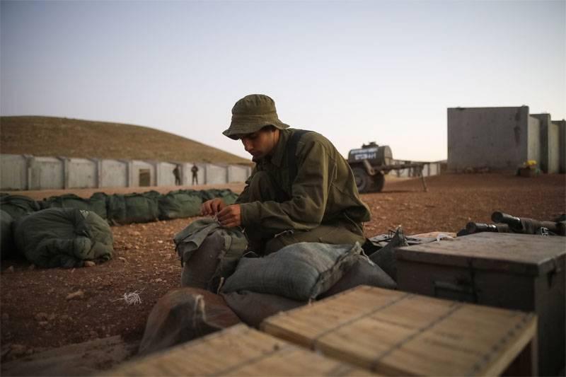 누가 이스라엘 군대를 털 었어?