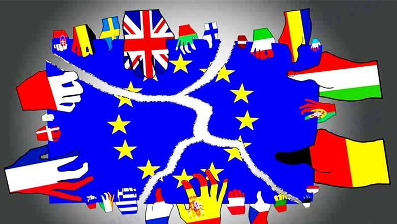 Order in chaos. Who and why crushes Europe