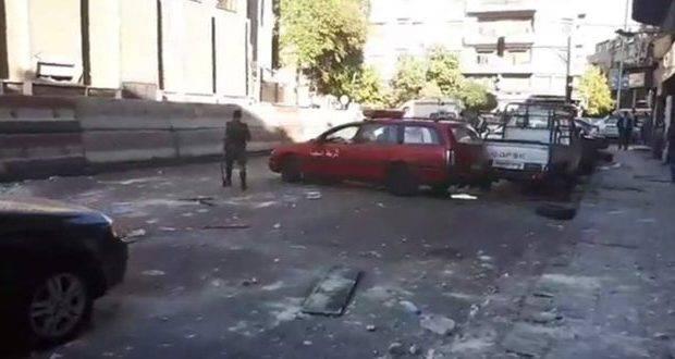 Triple ataque terrorista en la capital de Siria.