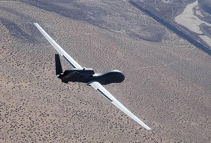 Northrop Grumman lancia il UAV Global Haw RQ-4 per il Giappone