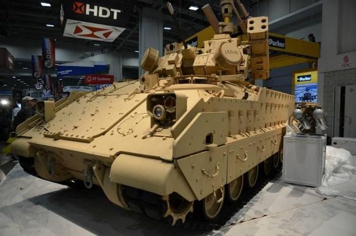 BAE Systems ha presentato una nuova modifica del BMN M2 Bradley