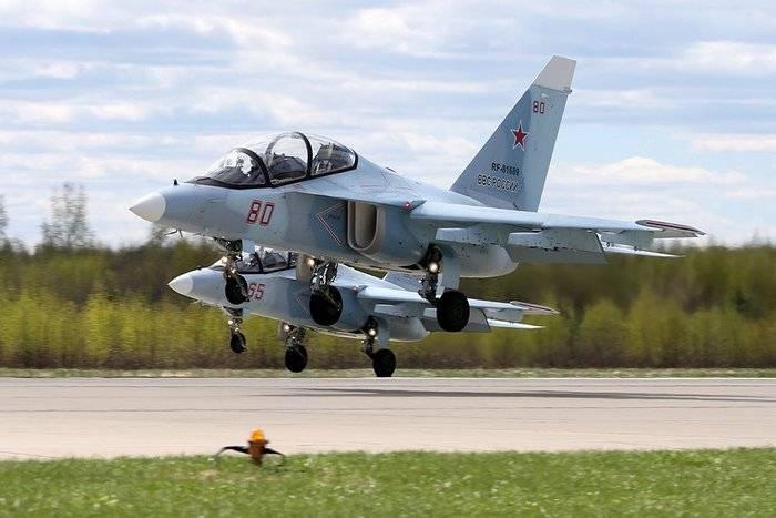 La Escuela de Vuelo de Krasnodar recibirá cuatro nuevos Yak-130