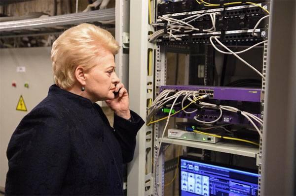 Grybauskaite는 Gazprom의 독점에 대한 브뤼셀의 보상을 요구했다.
