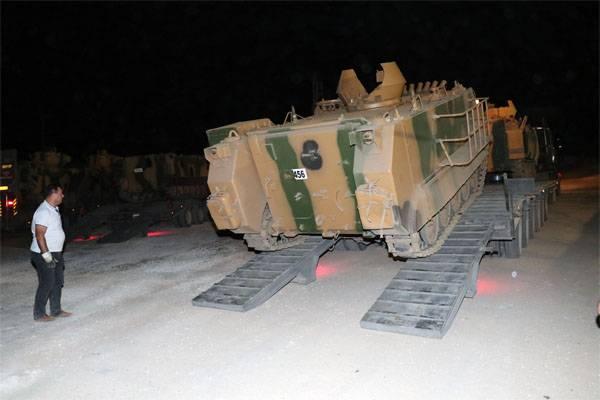 Турецкие войска входят в Идлиб