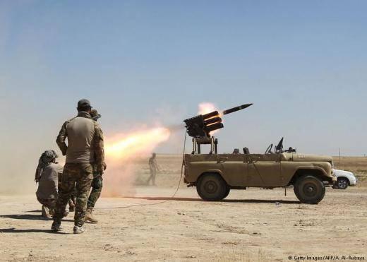 """Missile"" UAZ in Iraq"