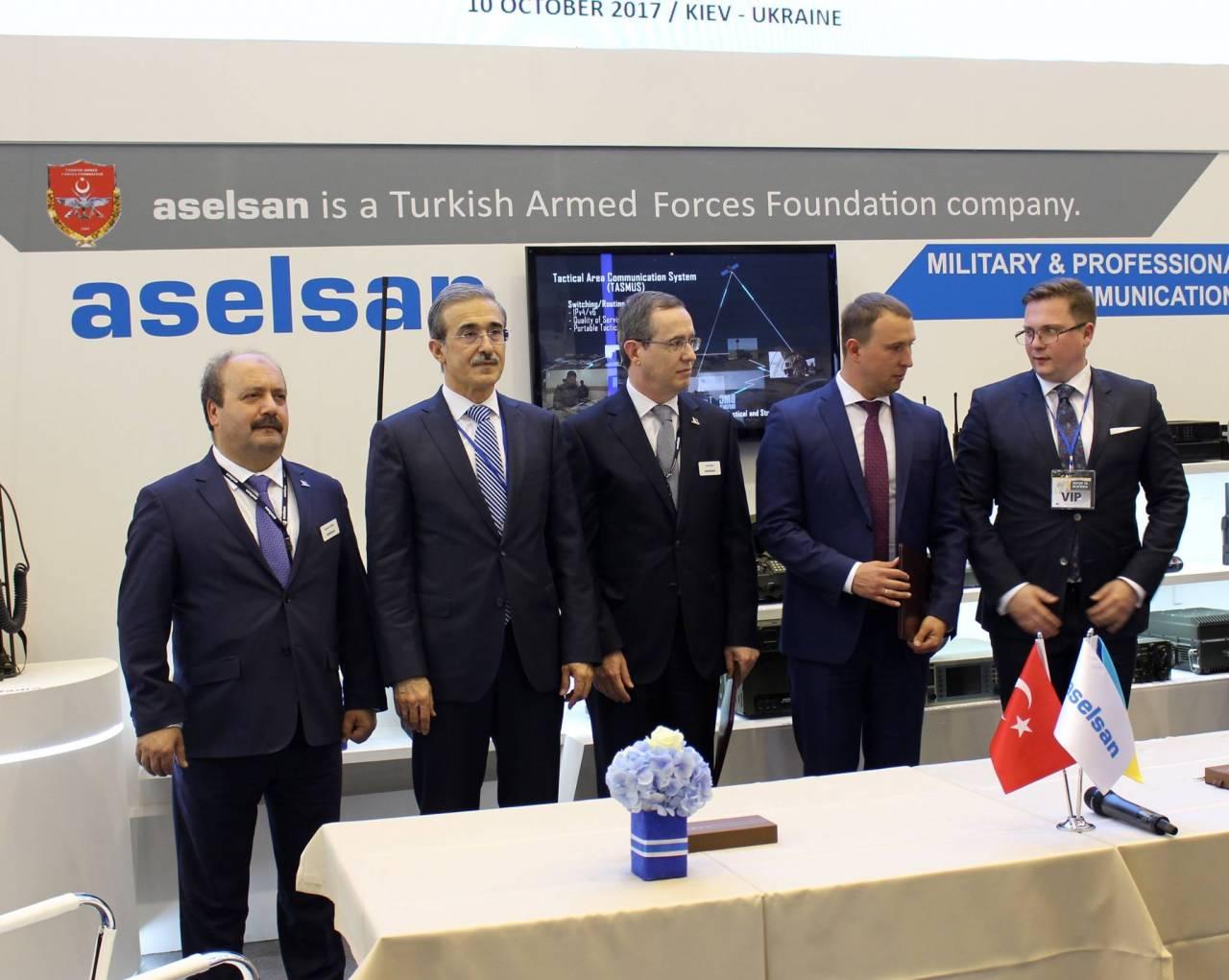 Турция хочет поставлять ВСУ системы тактической связи УКВ-диапазона