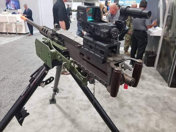 La mitrailleuse M2 Browning a eu un collimateur