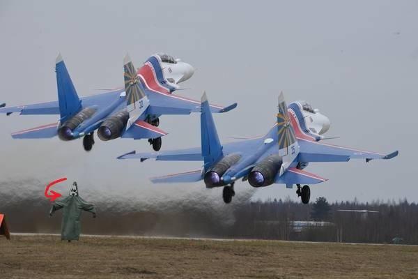 Группы высшего пилотажа ВКСРФ проводят учения вКубинке