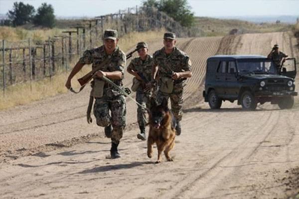 Uma tentativa de transporte de munição na fronteira do Cazaquistão e Quirguistão foi interrompida pelos guardas de fronteira