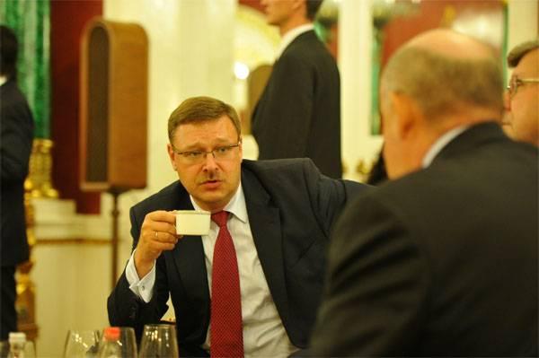 Kosachev: Estados Unidos - um estado desonesto