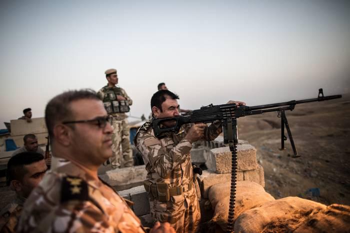伊拉克库尔德斯坦当局正在基尔库克建立一个Peshmerga集团
