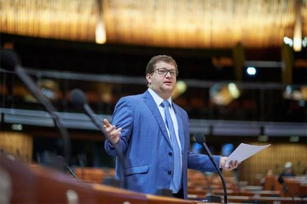 Delegação de VRU em PACE: Devemos processar a Federação Russa por falta de pagamento de taxas de adesão