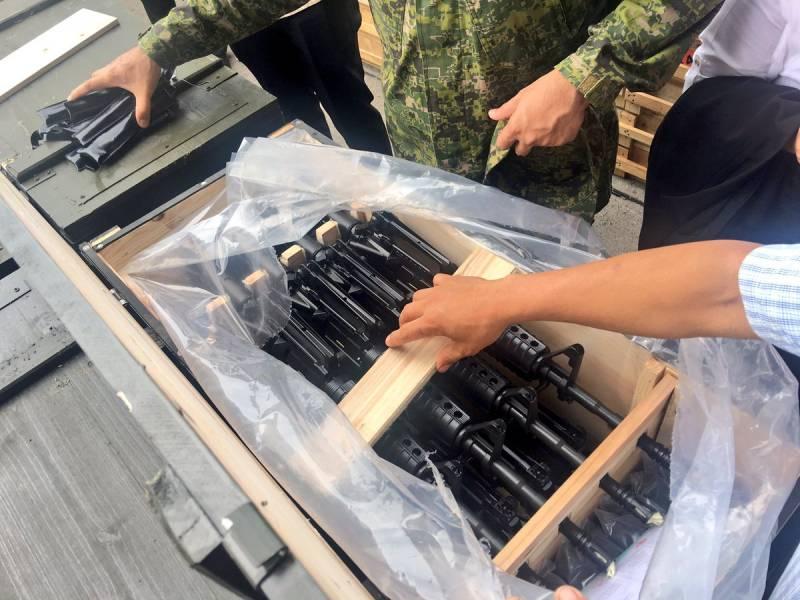 РФ начинает «подарочные» поставки оружия наФилиппины