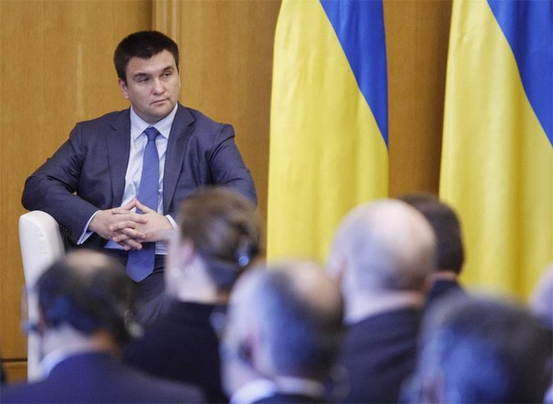 Klimkin: A lei ucraniana sobre educação não viola as línguas da UE