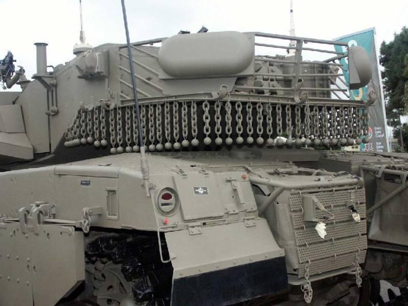 Progresso na proteção de veículos militares