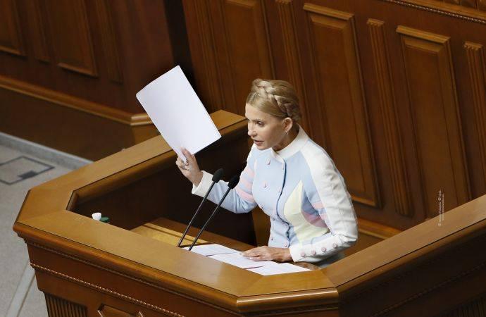 Yulia Tymoshenko : 나는 우크라이나의 대통령직을 위해 달릴 것이다.