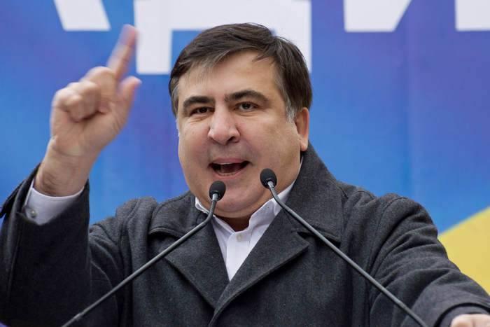 """萨卡什维利呼吁拯救乌克兰""""腐烂"""""""