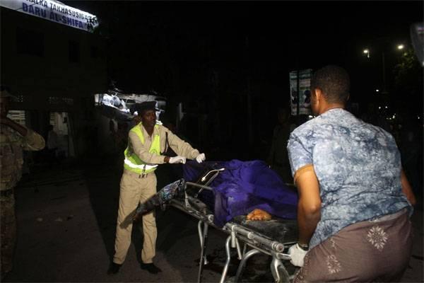 El mayor atentado terrorista en Mogadiscio.