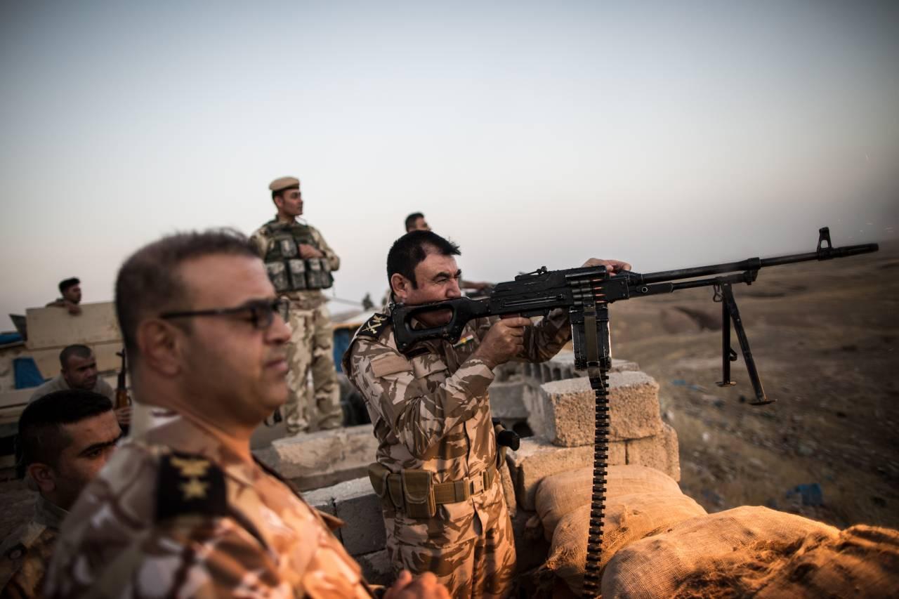 Иракские силовики объявили обустановлении контроля над аэропортом Киркука