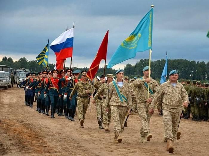 CSTO演习在哈萨克斯坦开始