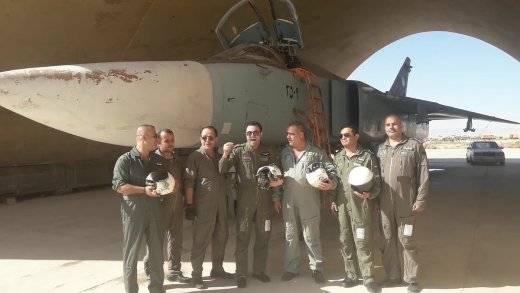 "Bombardeiro sírio Su-24М2 com SVP-24 ""Hefesto"""