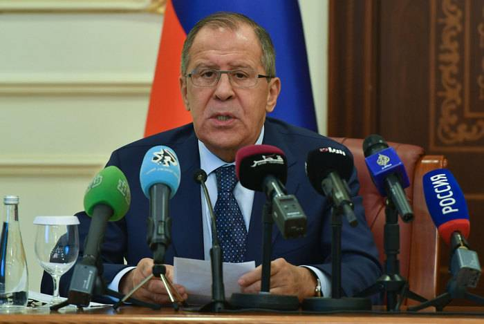Lavrov: An-Nusru * is cherished for the overthrow of the Assad government