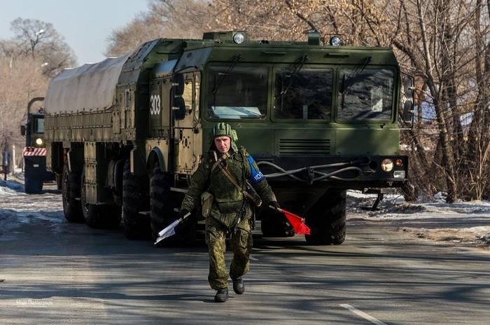 """Los cálculos de """"Iskander-M"""" surgieron en una alerta de entrenamiento cerca de Orenburg"""