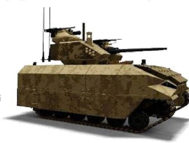 在美国,正在开发另一种有前途的步兵战车。