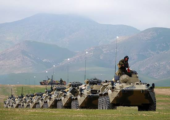 Russian military in Abkhazia will work defensive actions in the mountains