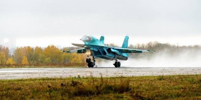 Компания «Сухой» направила ВКСРФ новейшую партию Су-34