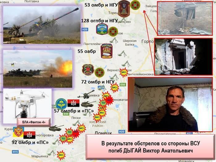 ЛНР указала нанеподчиняющуюся командованию группировку ВСУ