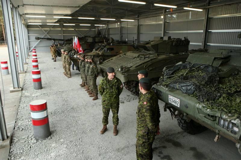 Over 3,5 thousand NATO began military maneuvers in Latvia