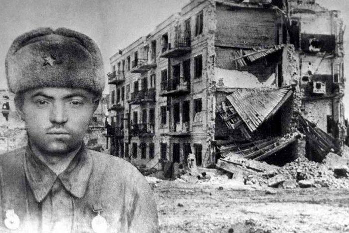 Yakov Pavlov. Uno de los héroes más famosos de Stalingrado.