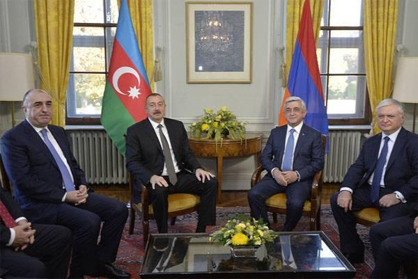 Presidentes de Azerbaiyán y Armenia se reunieron