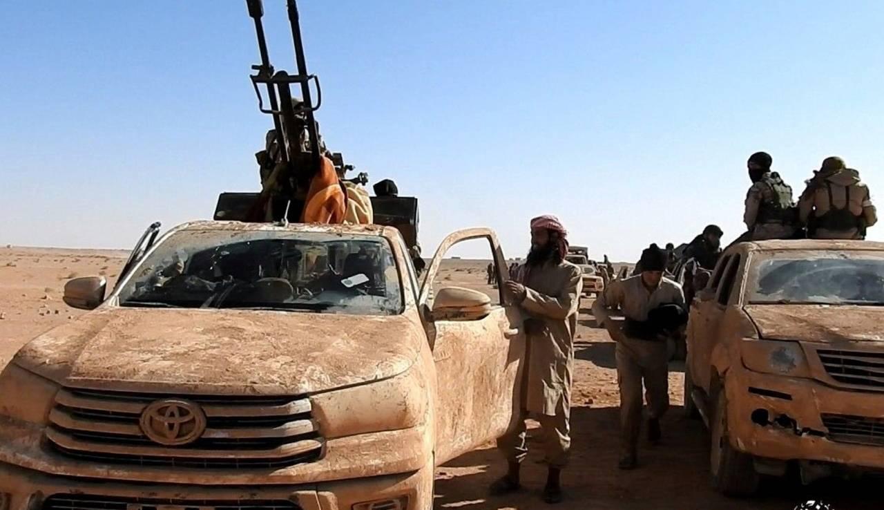 Русские ВКС помогли САА ликвидировать боевиков ИГ* ввосточной Хаме