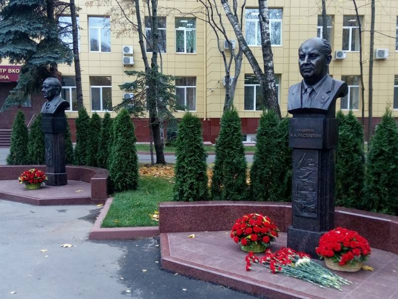 In Almaz-Antey Concern, the Alley of Memory of General Designers is opened