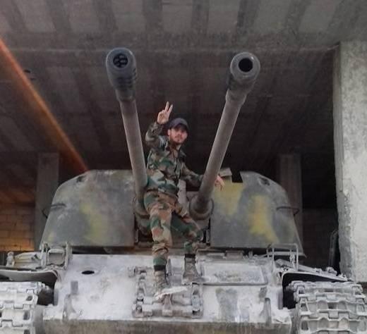 シリアでは、ロシアの自動車に搭載される銃の数が増えています