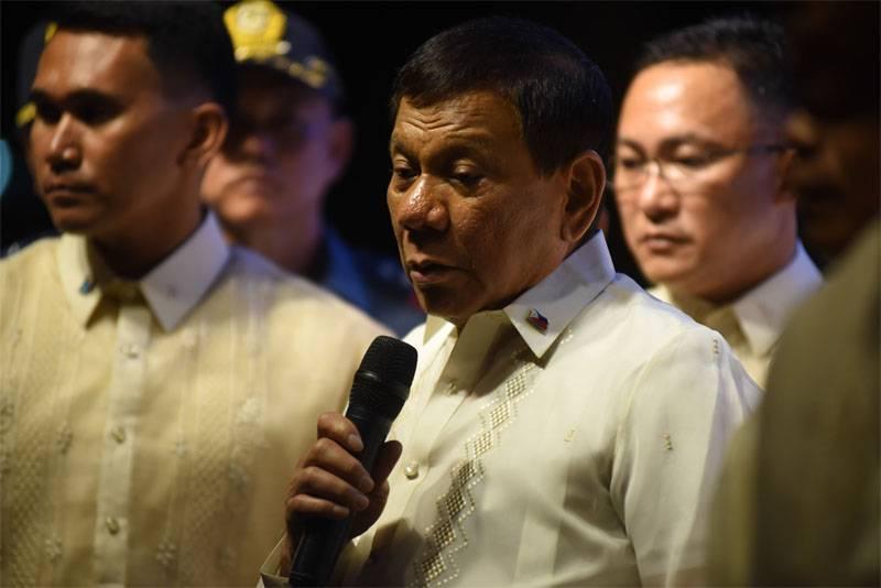 필리핀 대통령 : 마라 비의 ISIL 세포 분쇄