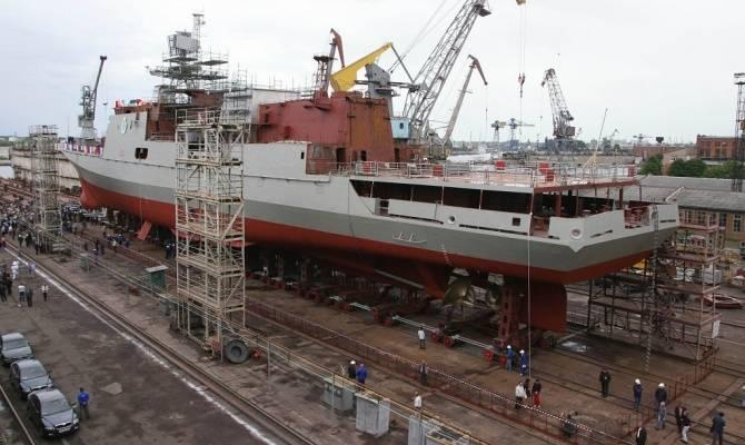 Yantar는 보조 선박에 대한 새로운 주문을 기대하고 있습니다.