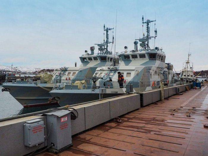 Two anti-sabotage boats of the Northern Fleet will be named