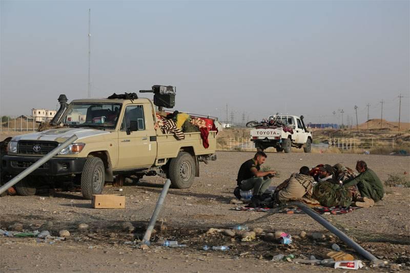 クルド人:Kirkukの西部郊外はISISの制御下に来た