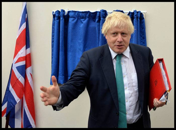 Johnson: Britain cannot have normal relations with Russia
