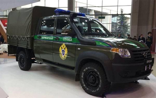 UAZ introduziu novas modificações de carro para agências de aplicação da lei