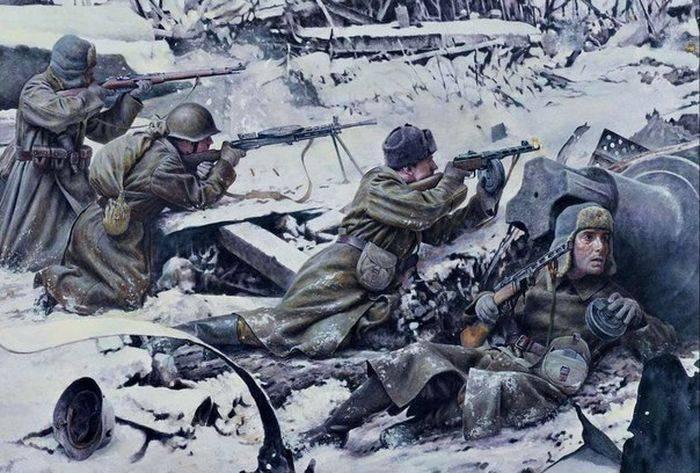 Krasnovka의 열 아홉 영웅