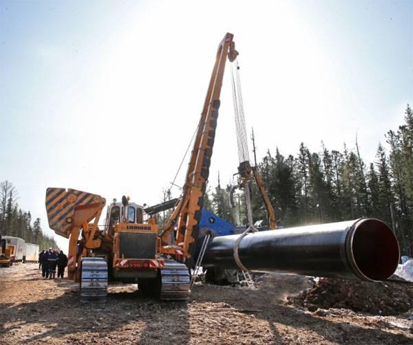 Costruito oltre il 50% del gasdotto Power of Siberia