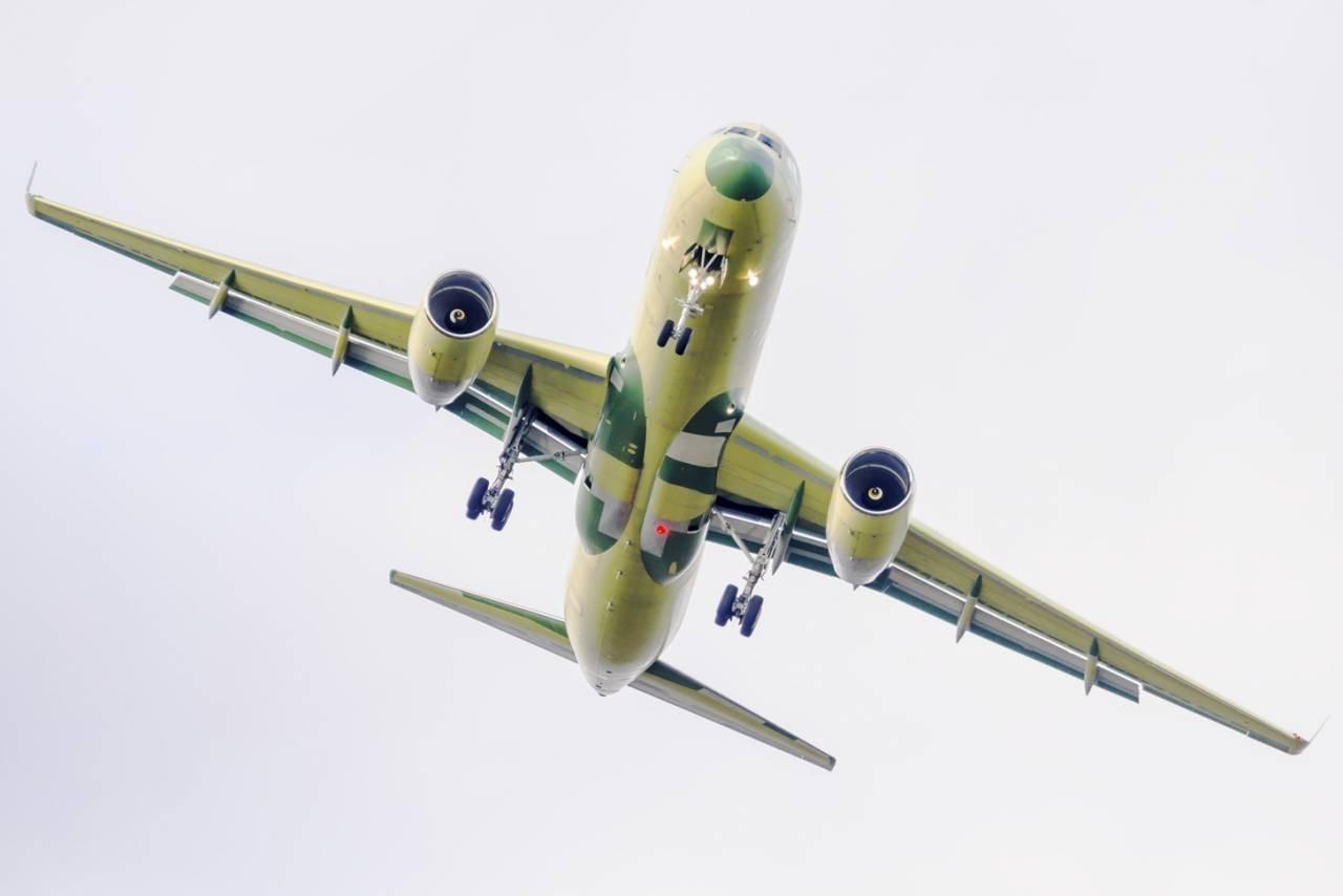 ВКазани прошел 1-ый полет самолета Ту-214ПУ-СБУС для МинобороныРФ