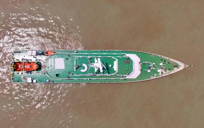 Marinha vietnamita recebeu navio de resgate do projeto russo