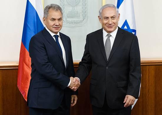 Шойгу и Нетаньяху